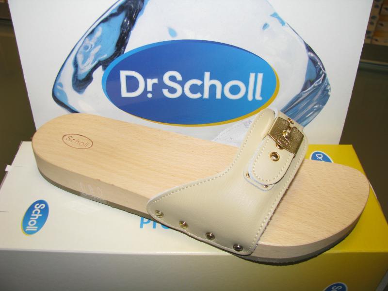 foto ufficiali cf686 a7e5e Zoccoli in legno PESCURA PIATTO Dr Scholl