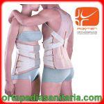 Busto dorso-lombare con spallacci e tiranti elastici RO+TEN