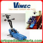 Montascale mobile a cingoli T09 Roby Vimec