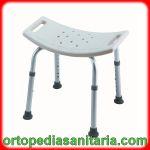 Sgabello sedia per doccia regolabile in altezza