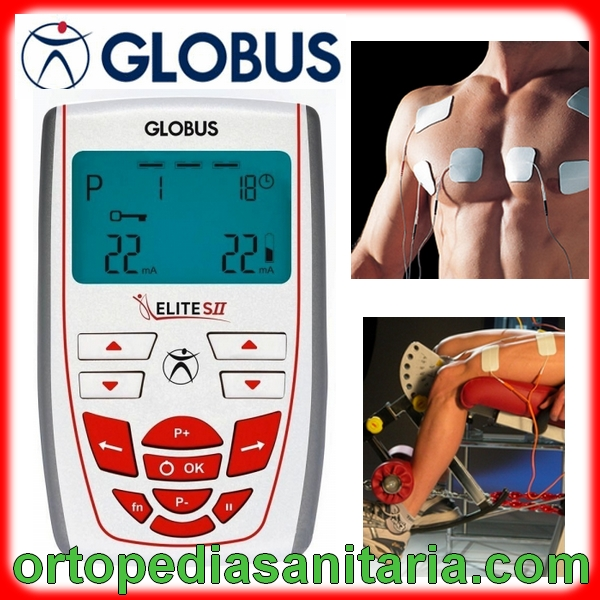 Elettrostimolatore Elite SII Globus Italia per tens, riabilitazione,incontinenza, fitness e sport