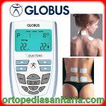 Elettrostimolatore Duo Tens Globus Italia per dolori cervicali e alla schiena, fitness, tens