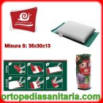 Cuscino da viaggio salvaspazio in memory Sleepway Fabotex Small