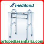 Deambulatore pieghevole con 4 puntali Mediland