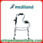 Deambulatore fisso pieghevole con doppia impugnatura Mediland