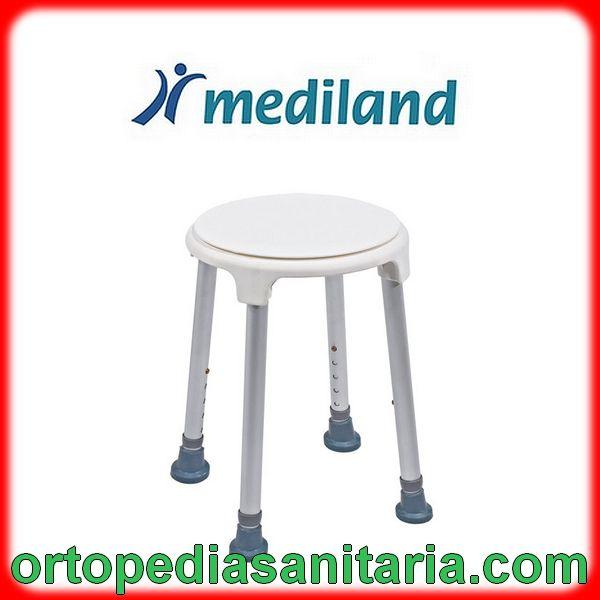 Doccia Con Sedile Prezzo.Sedile Per Doccia Con Base Appoggio Ruotante Mediland