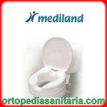 Rialzo wc con coperchio da 15 cm Mediland