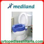 Rialzo Wc 10 cm soft blu Kometa Mediland