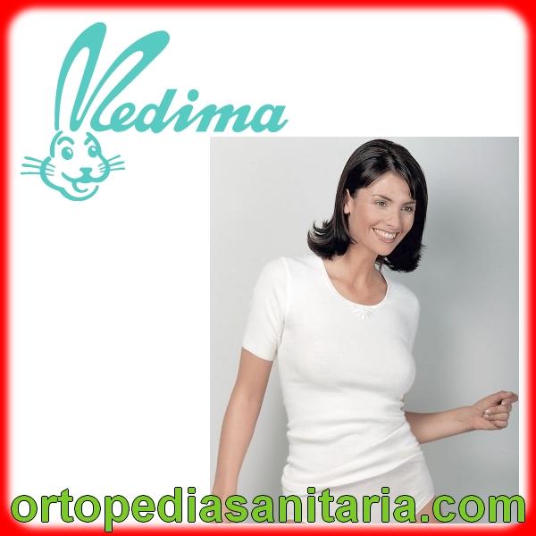 Maglia donna mezza manica 50% angora M702 Meddy Medima