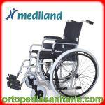 Carrozzina standard ruote grandi  M200 telaio grigio Mediland
