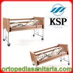 Letto elettrico Aurora A8936 doghe in legno Ksp Italia
